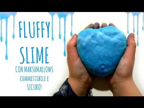 FLUFFY SLIME con Marshmallows Commestibile e SICURO ! (Paste modellabili)Arte per Te