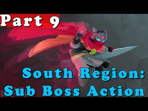 #9| Hyper Light Drifter Gameplay Walkthrough Guide | South Triangle 2 3 4 | PC Full HD No Commentary