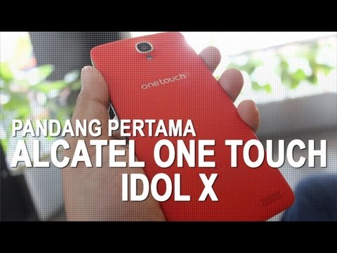 Pandang Pertama : Alcatel One Touch Idol X