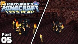 Let's Play Minecraft, Part 05: DOUBLE BLAZE SPAWNERS?! (Survival, Java Edition)