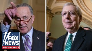 Schumer blasts McConnell over Green New Deal vote
