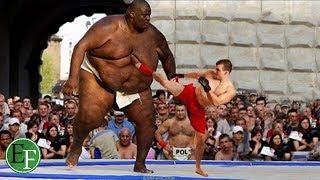 5 عمالقة على حلبة المصارعة، ارعبوا المشاهدين قبل الخصوم