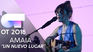 """UN NUEVO LUGAR"" | AMAIA ROMERO | GALA FINAL | O..."