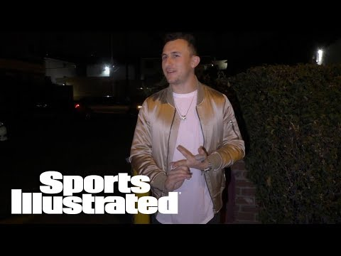 Johnny Manziel Marries Model Bre Tiesi In Private Secret Ceremony | SI Wire | Sports Illustrated