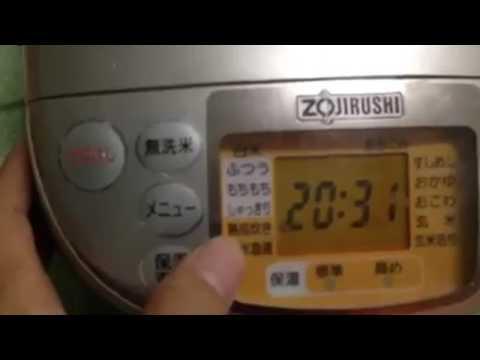 hướng dẫn sử dụng nồi cơm điện zojirushi nhật bản cho người mới