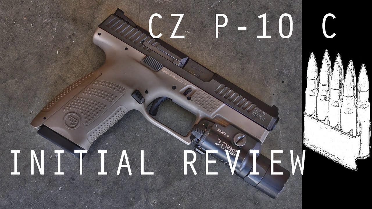 The CZ P-10C | This Is The Line