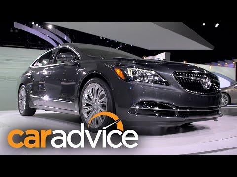 Buick LaCrosse - future Holden design : 2015 LA Auto Show