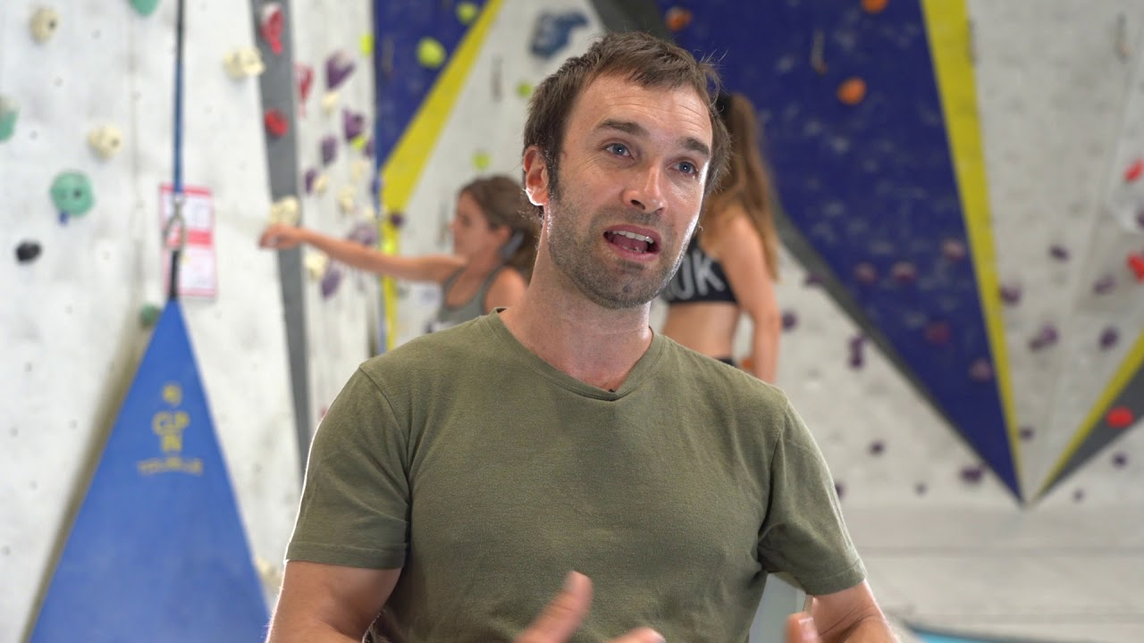 Chris Sharma Barcelona Climbing Gym Reopening With Trublue Auto Belays Youtube