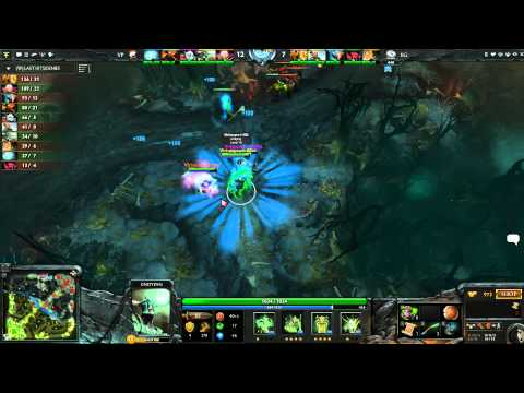 The Defence 3 Play-offs WB R2 Virtus.Pro vs EG Game 1