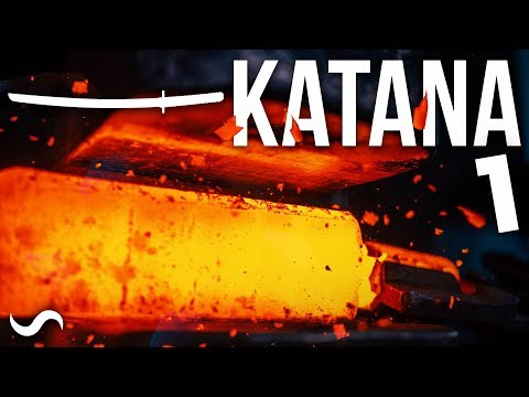 MAKING A KATANA WITH 500K LAYERS!!! PART 1