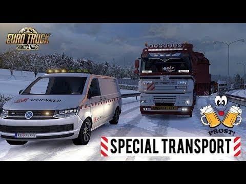 ETS2 I Special Transport ★ Schwerlasttransport unter Alkohol ★ #554 Euro-Tour [Deutsch/HD]