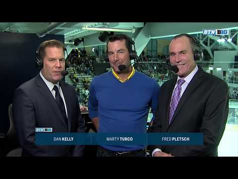 Marty Turco Joins the Booth