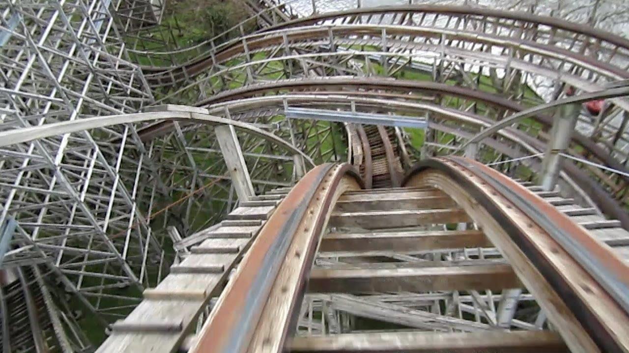 Megafobia Front Seat On Ride Hd Pov Oakwood Theme Park