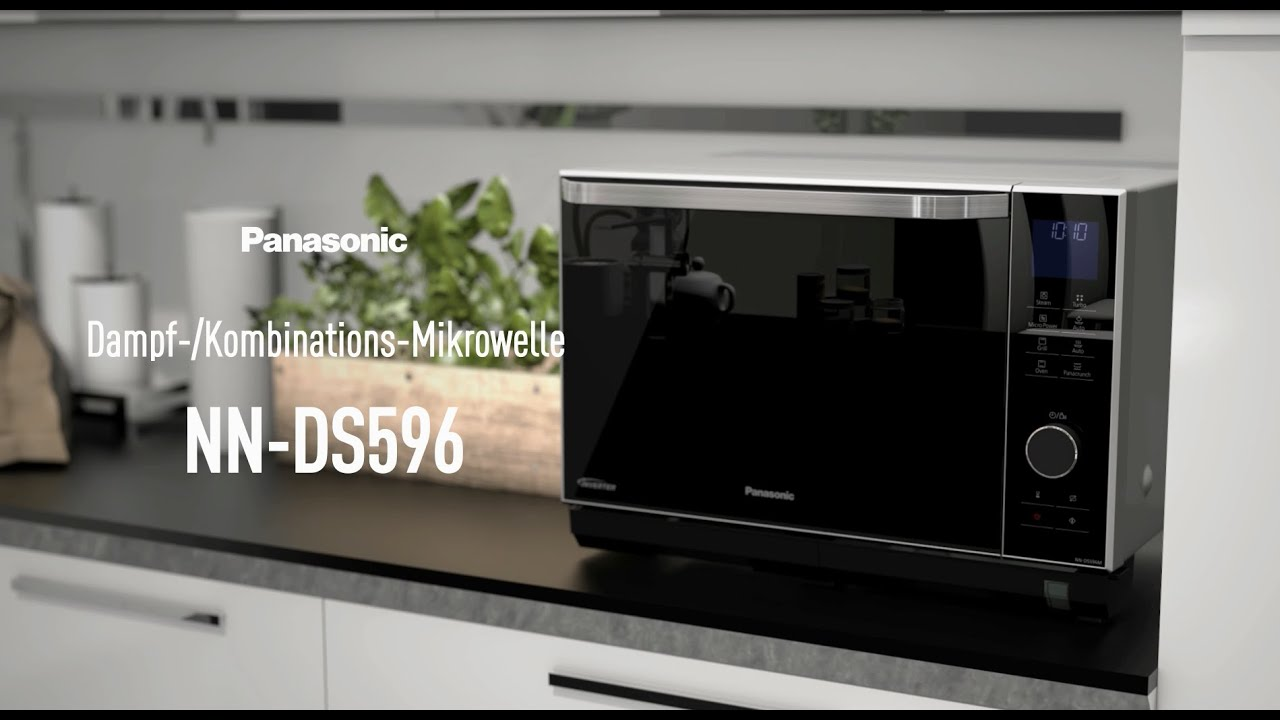 Backofen Mit Integrierter Mikrowelle Nn Ds596m Dampf Kombinations Mikrowelle