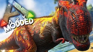 ARK Survival Evolved Ep #1 - THE CRAZIEST ARK ADVENTURE YET! - (Modded Survival)