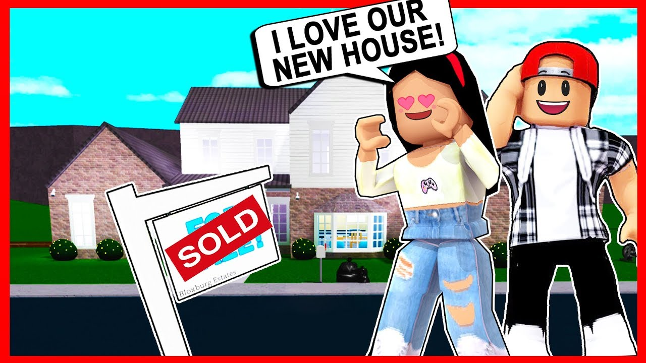 Moving Into My Dream House In Bloxburg Roblox Youtube