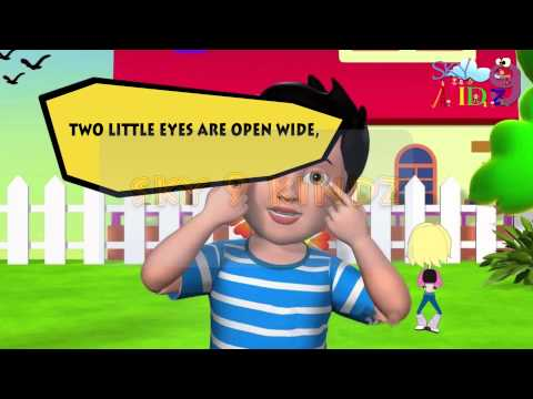 Two little hands go clap   English rhymes for kidz || Pre-school rhymes for kidz ||