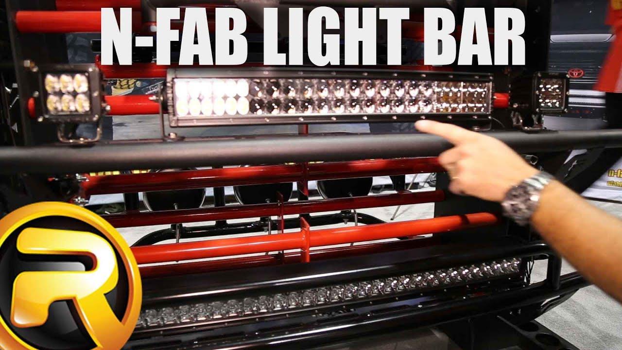N fab light bars youtube mozeypictures Choice Image