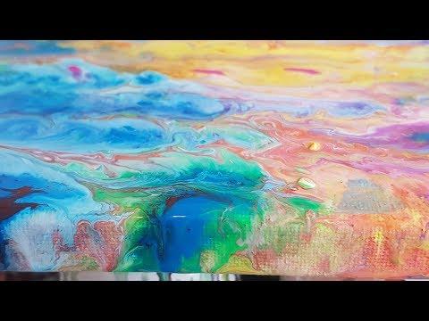 Video 4- Fluidic Acrylic Pouring