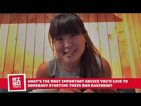 Bonnie Chung - What's the most important advice you'd give to somebody starting their own business?