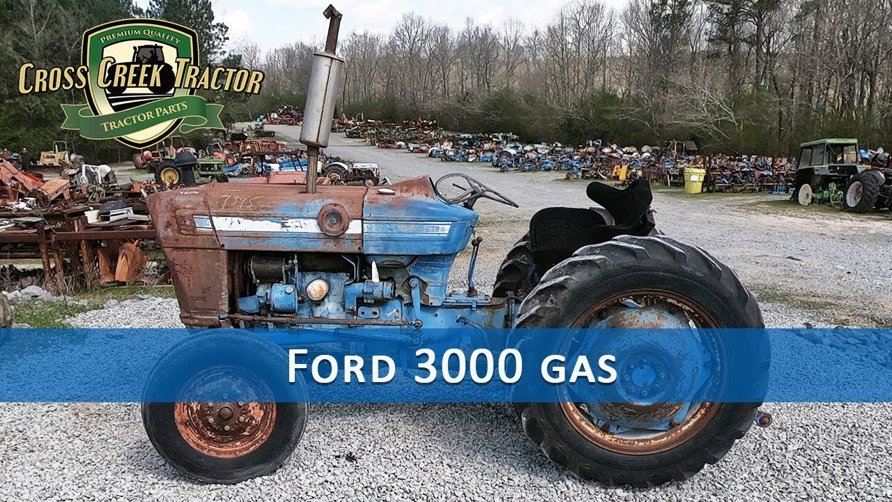 small resolution of ford 3000 gas tractor parts youtube ford 3000 gas tractor wiring harness