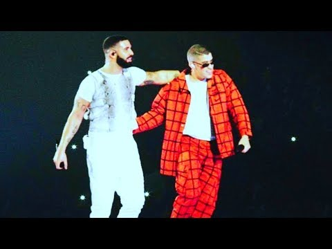 Bad Bunny ft. Drake - Mia (Miami Live 2018, American Airlines Arena, Aubrey & The Three Migos Tour)