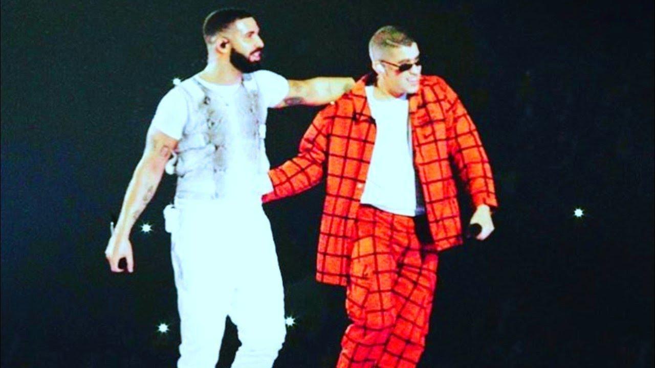 Bad Bunny Ft Drake Mia Miami Live 2018 American