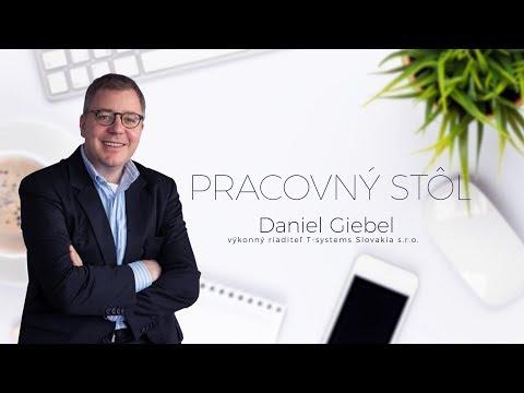 Pracovný stôl: Daniel Giebel, výkonný riaditeľ T-Systems Slovakia s.r.o.