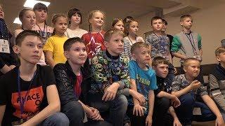 Сбор детей перед отправлением на Кремлевскую елку