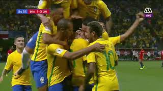 Chile vs Brasil, segunda parte, 10 de octubre de 2017