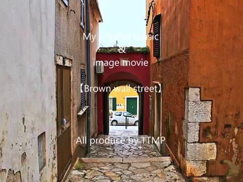 TTMP original music & image movie 【Brown wall street】