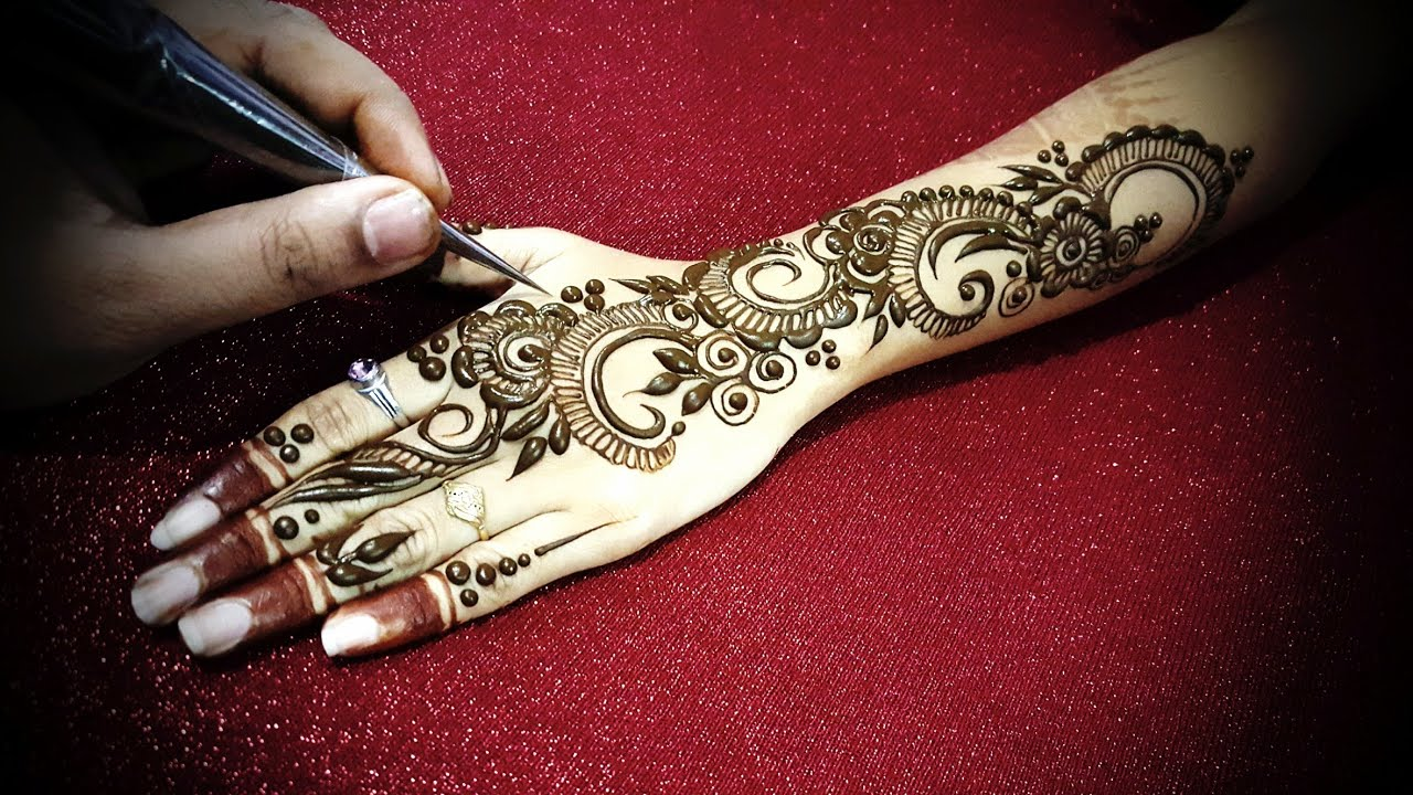 mehndi design dubai simple