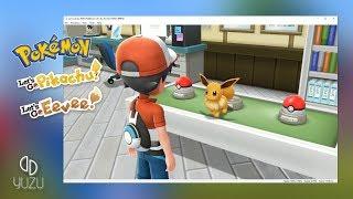 How to Play Pokémon Let's Go Eevee/Pikachu on PC [Full Speed] (Yuzu Switch Emulator)