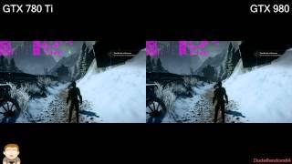 Dragon Age Inquisition GTX 980 Vs 780 Ti FPS Comparison