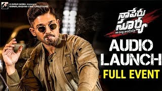 Naa Peru Surya Naa Illu India Audio Launch | Full Event | Allu Arjun | Anu Emmanuel