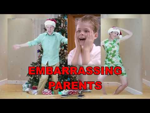 An Embarrassing Parents Merry Christmas!  From Merrick & Family