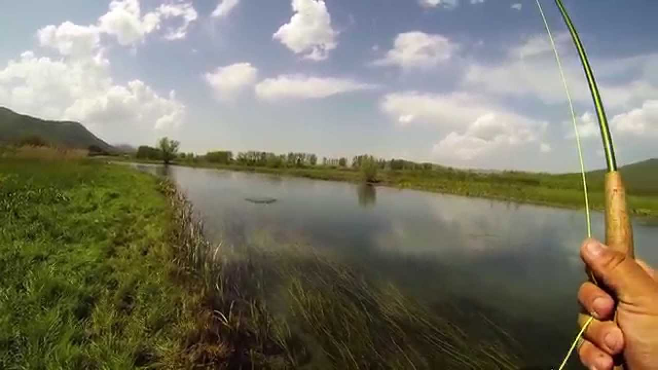 Fly fishing river gacka croatia youtube for Fishing spots around me