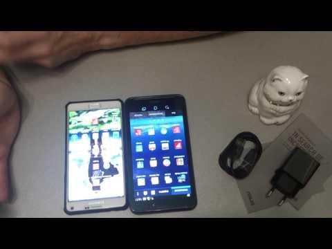 Обзор :ASUS Fonepad Note 6 vs GALAXY Note 4