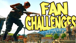 FAN CHALLENGES!! -- Live PUBG -- Taking YOUR requests!