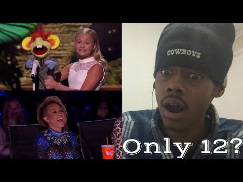 Thumbnail: Darci Lynne: 12-Year-Old Ventriloquist Dedicates Song to Mel B - America's Got Talent 2017 REACTION