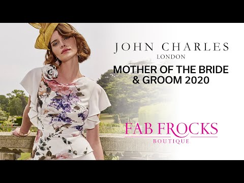 John Charles Mother Of The Bride & Groom Spring 2020 | Fab Frocks