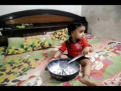 Boy cooking food hilarious