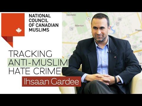 NCCM's Hate Crime Map | Ihsaan Gardee