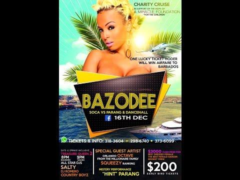 "Bazodee Boat Ride ""Soca Vs Parang & Dancehall"""