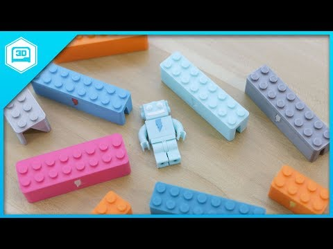 Webcam Cover-Up Lego brick with Adabot Mini Fig - 동영상
