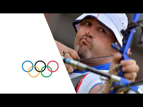 Italy Win Archery Team Gold - London 2012 Olympics