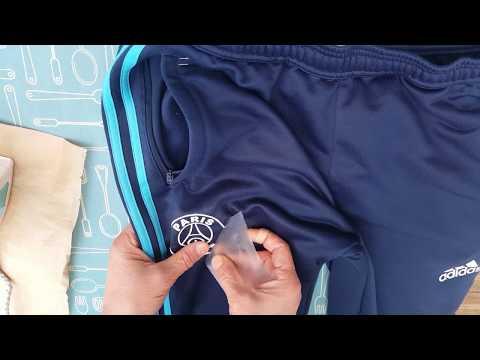 Customisation Adidas. Enlever Et Remplacer Le Logo Sur Textile