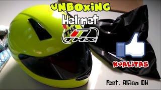unboxing time 5 thx helmet type v feat alfian dh