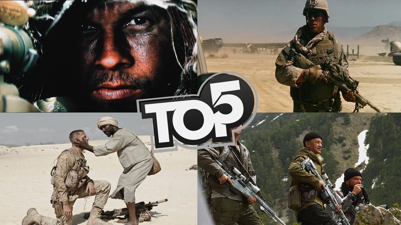 TOP 5 MOVIES LIKE | American Sniper - YouTube