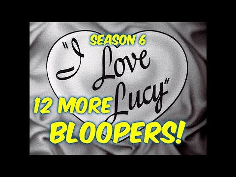 "12 ""I Love Lucy"" Bloopers You PROBABLY Did NOT Notice!!--Season 6"